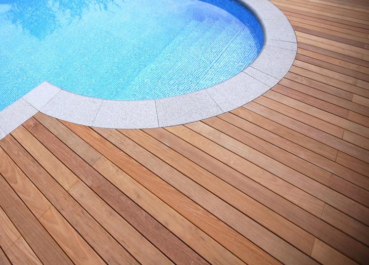 Tarima exterior ip for Ipe madera exterior