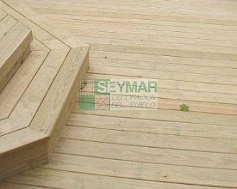 Tarima exterior madera de pino - Precio tarima madera ...