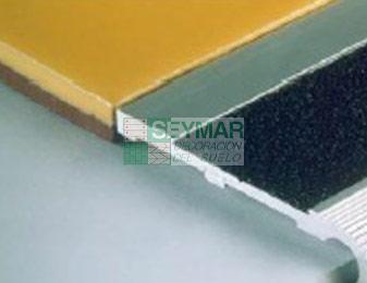 Junta de escalera aluminio antidesliz.