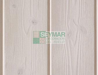 Friso madera teñido blanco