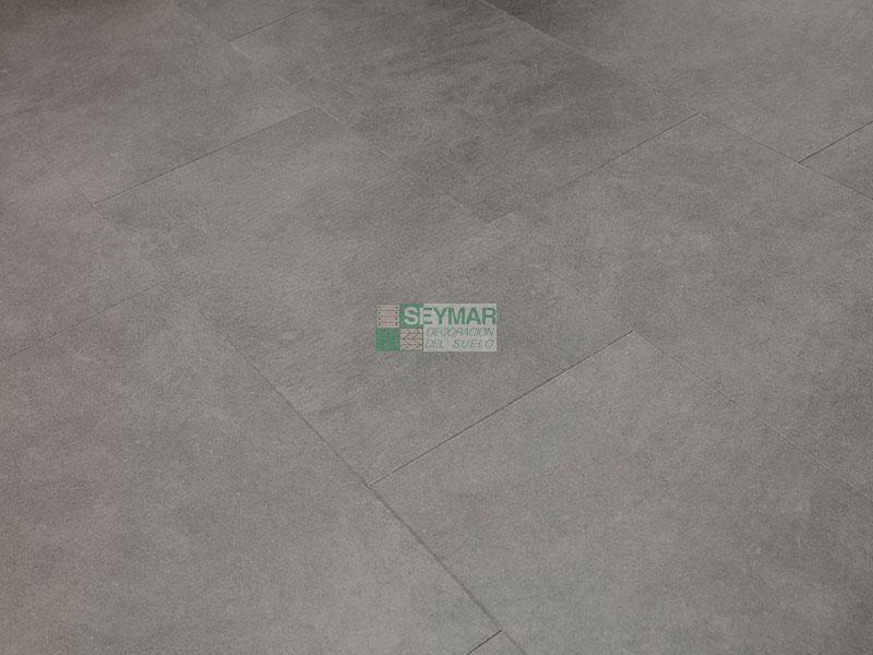 Loseta vinilica click PVC Oxido Gris