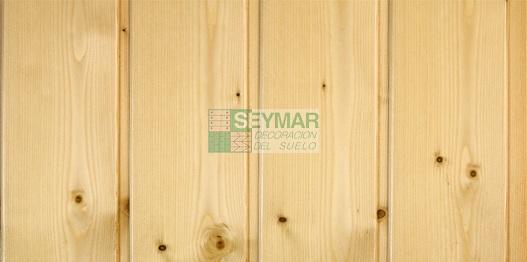 Friso madera abeto natural barnizado for Friso pvc precios