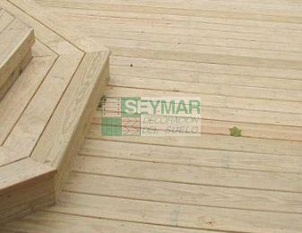 Tarima exterior madera de pino