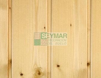 Friso madera Abeto natural barnizado