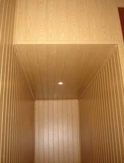Un friso de madera para decorar y proteger la pared auto - Revestimiento de madera ...