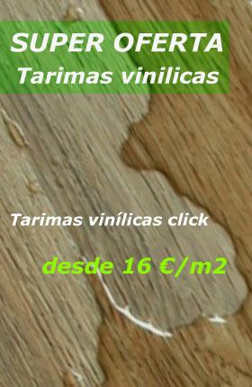 Oferta Tarimas vinilicas